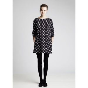[Marimekko] Petja Polka Dot Tunic Dress